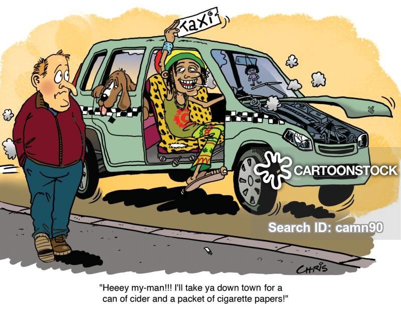 Taxi Driver Cartoon 6 of 85