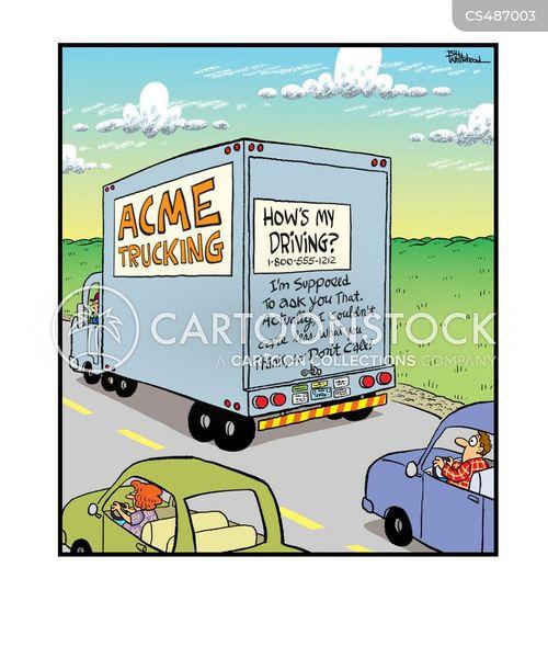 roadways cartoon