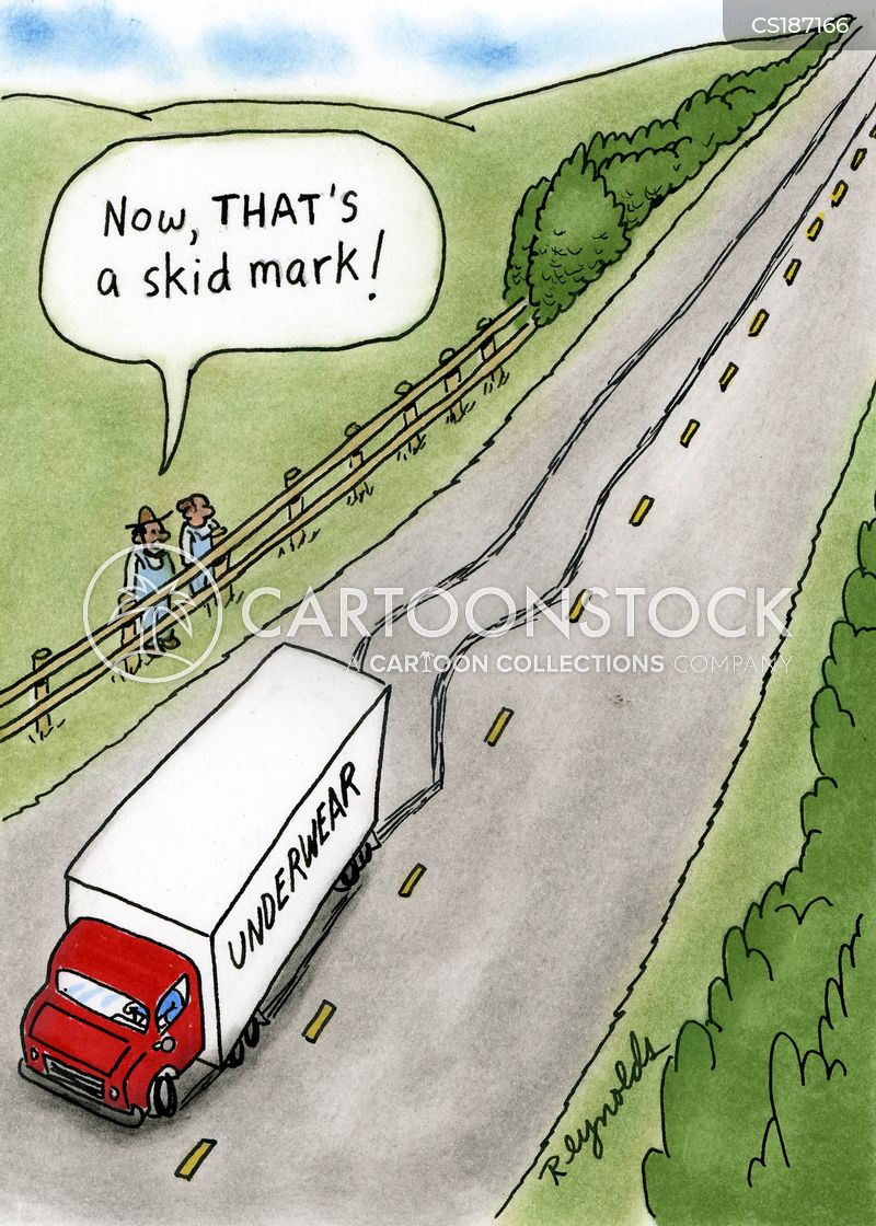 delivery trucks cartoon