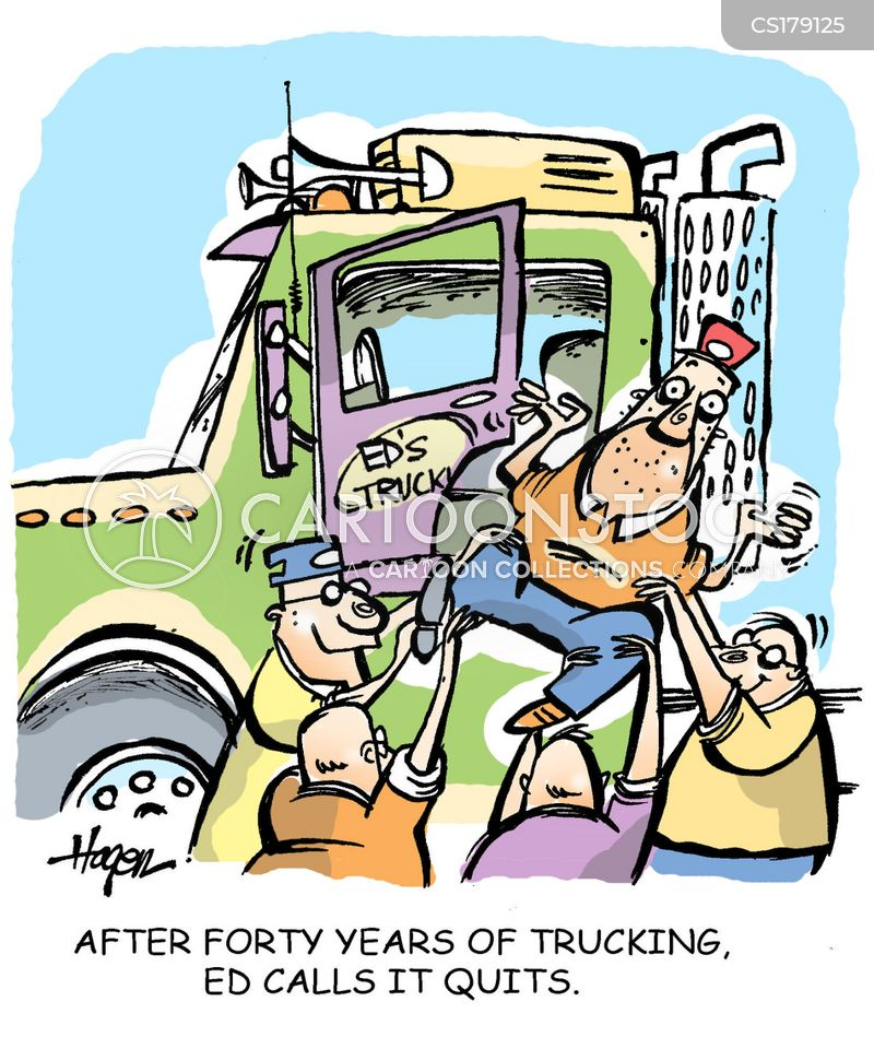 Lorry Drivers Cartoon 7 of 47