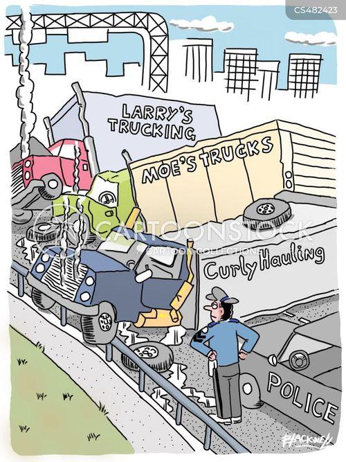 highway safety cartoon