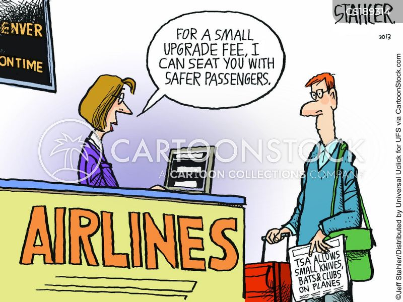 passenger safety cartoon