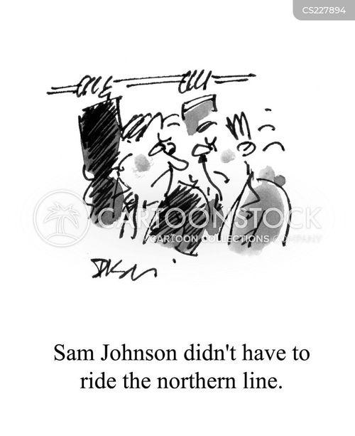underground trains cartoon