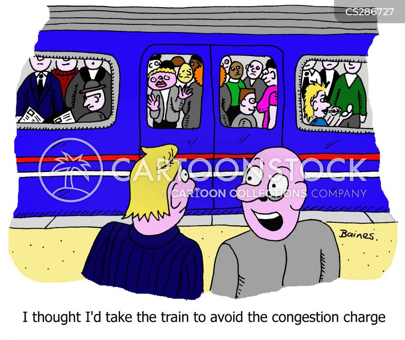 congestion charges cartoon