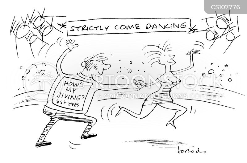 strictly come dancing cartoon