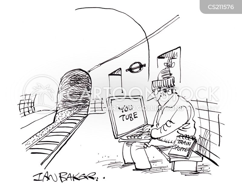 Train Spotting cartoons, Train Spotting cartoon, funny, Train Spotting picture, Train Spotting pictures, Train Spotting image, Train Spotting images, Train Spotting illustration, Train Spotting illustrations