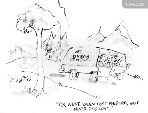 land development cartoon