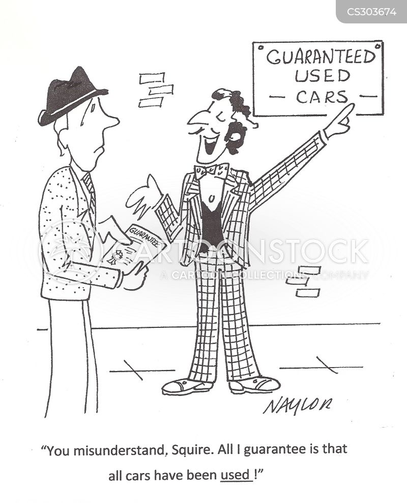 Cars Salesmen Cartoons And Comics Funny Pictures From Cartoonstock