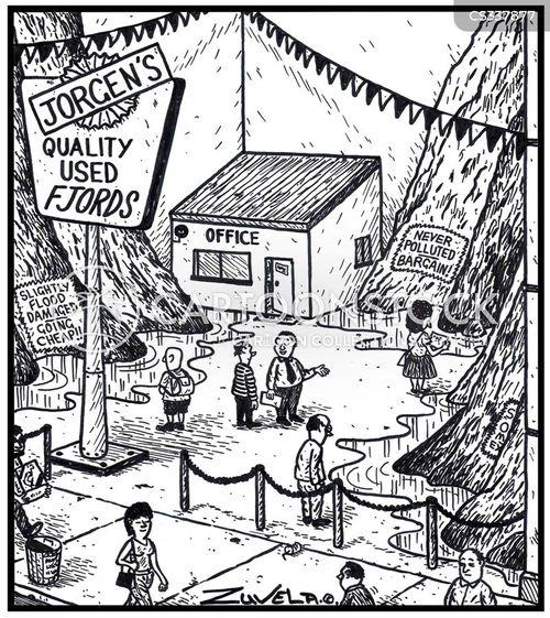 fjords cartoon