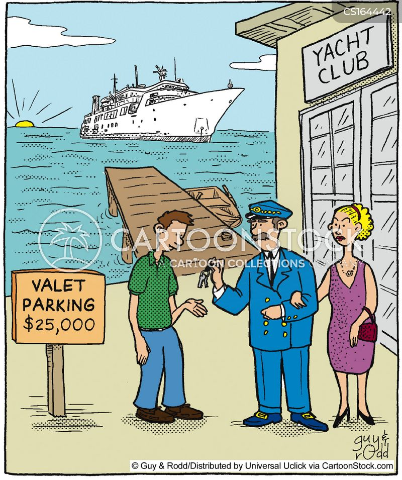 boat club cartoon