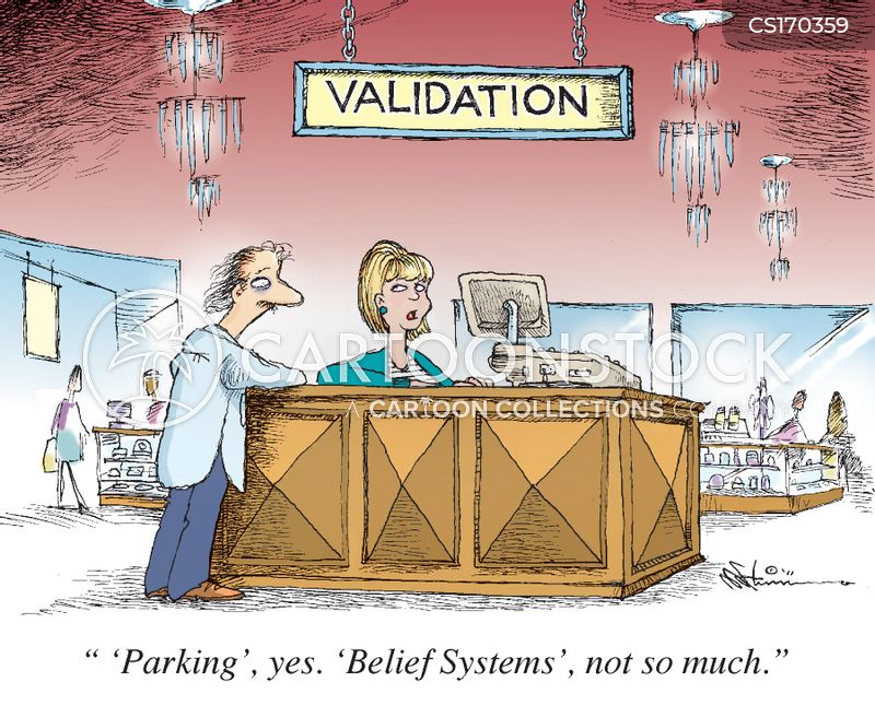 validating cartoon
