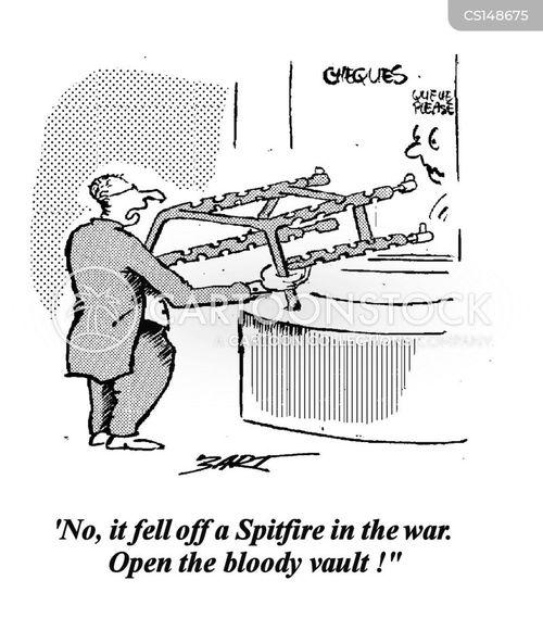 spitfire cartoon