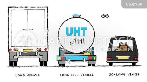 long vehicles cartoon