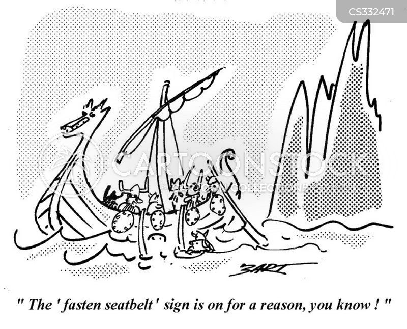fasten seatbelts cartoon