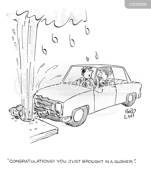 watered cartoon