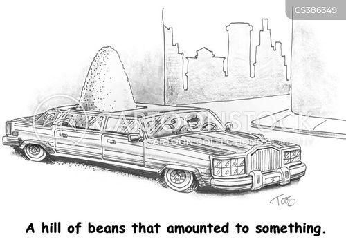 hill of beans cartoon