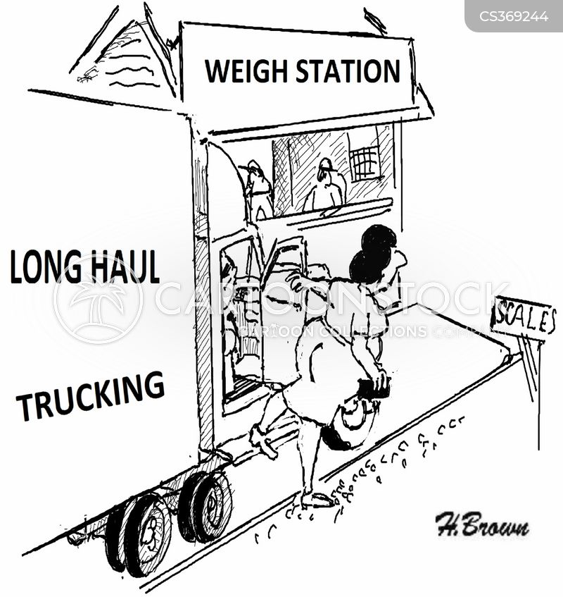 Lorry Driving Cartoon 5 of 8