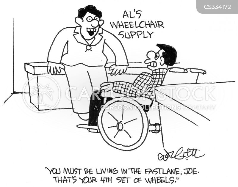Wheelchair Suppliers Cartoons And Comics Funny Pictures