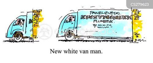 white van man cartoon