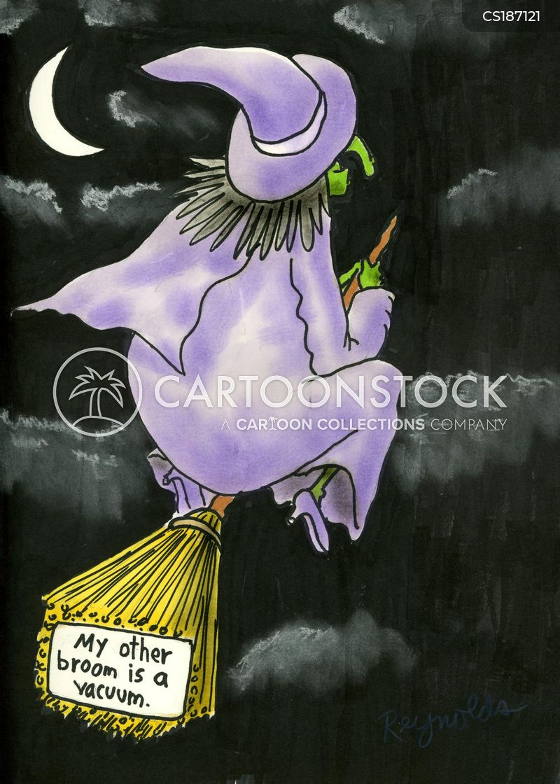 brooms cartoon