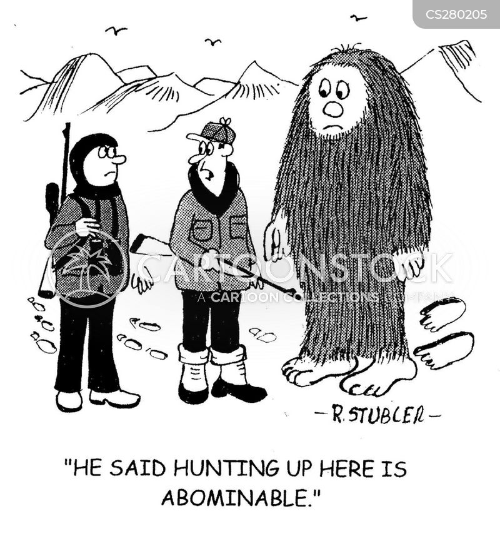 hunting trip cartoon