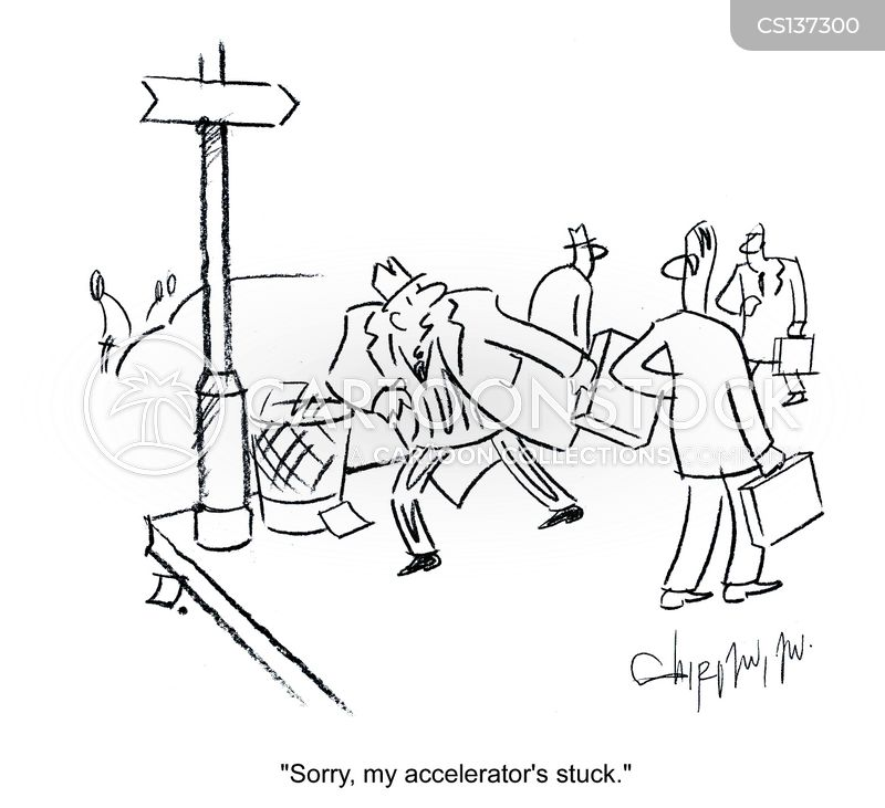 accelerators cartoon
