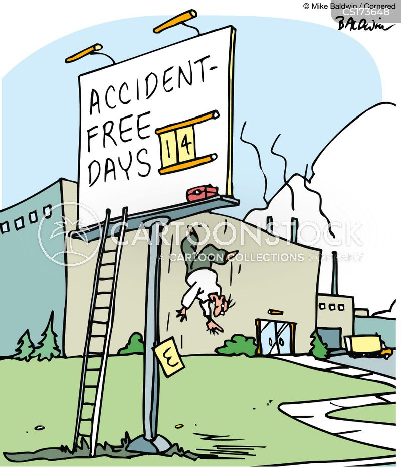 Accident Free Days Cartoons And Comics Funny Pictures