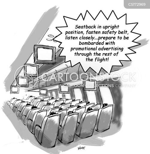 announcer cartoon