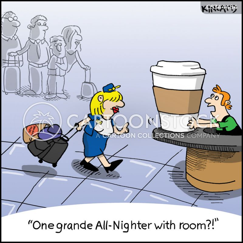 all nighter cartoon