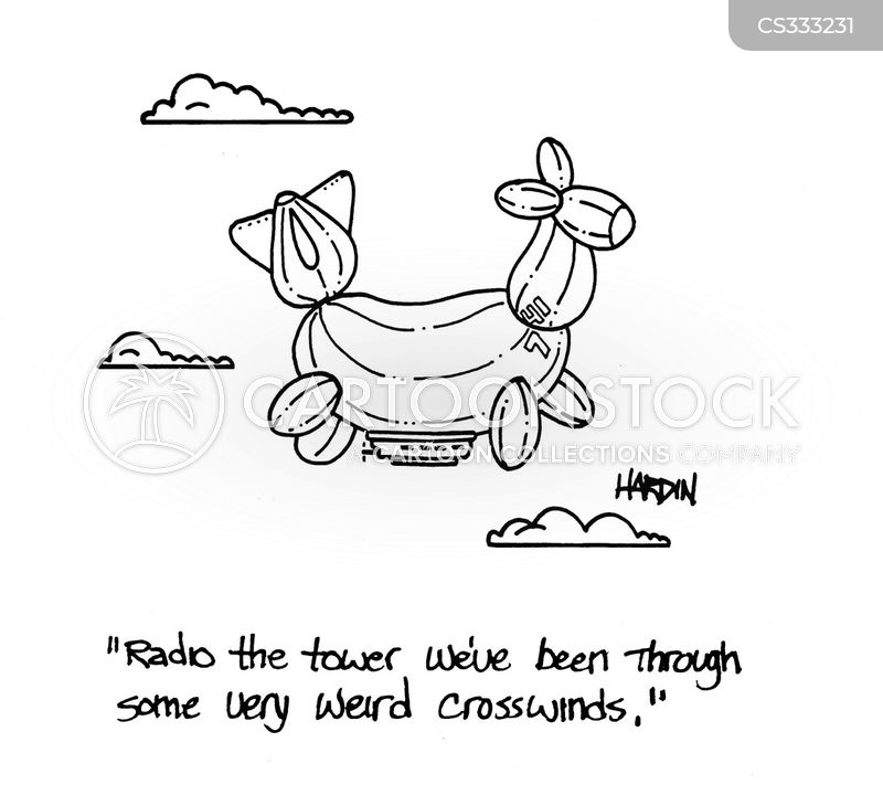 Problems Landing Cartoons and Comics - funny pictures from CartoonStock