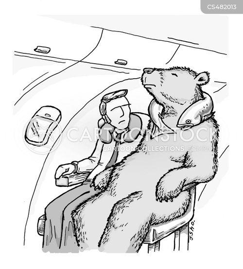 airplane seats cartoon