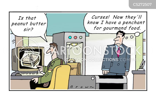 airline passengers cartoon