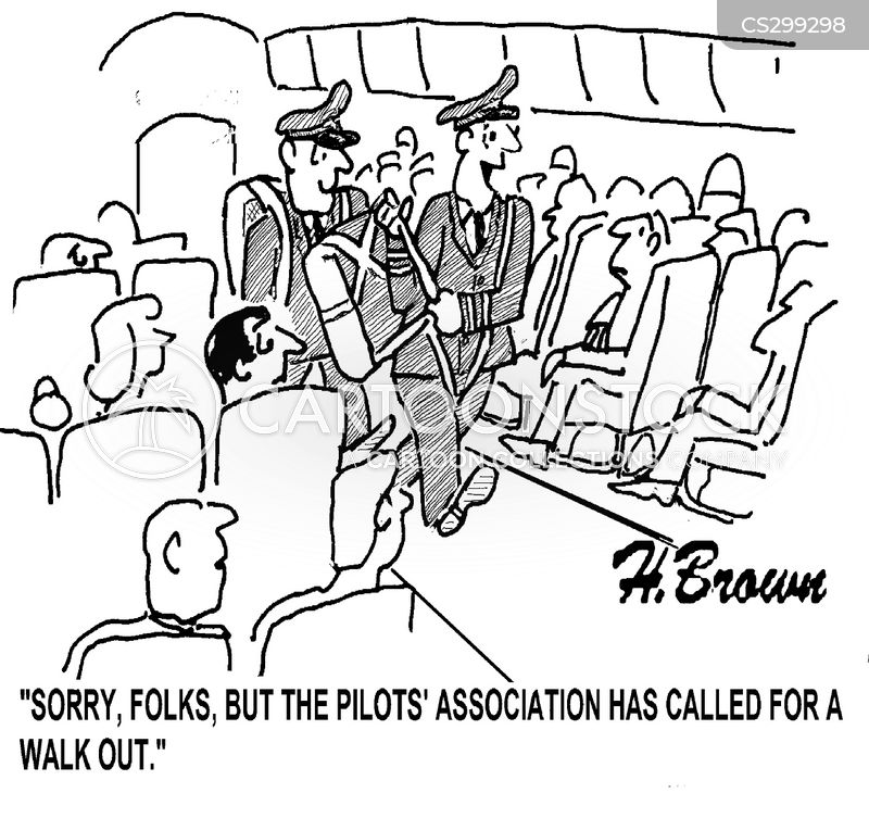 walk outs cartoon