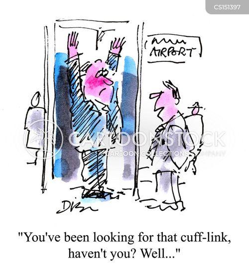cufflink cartoon