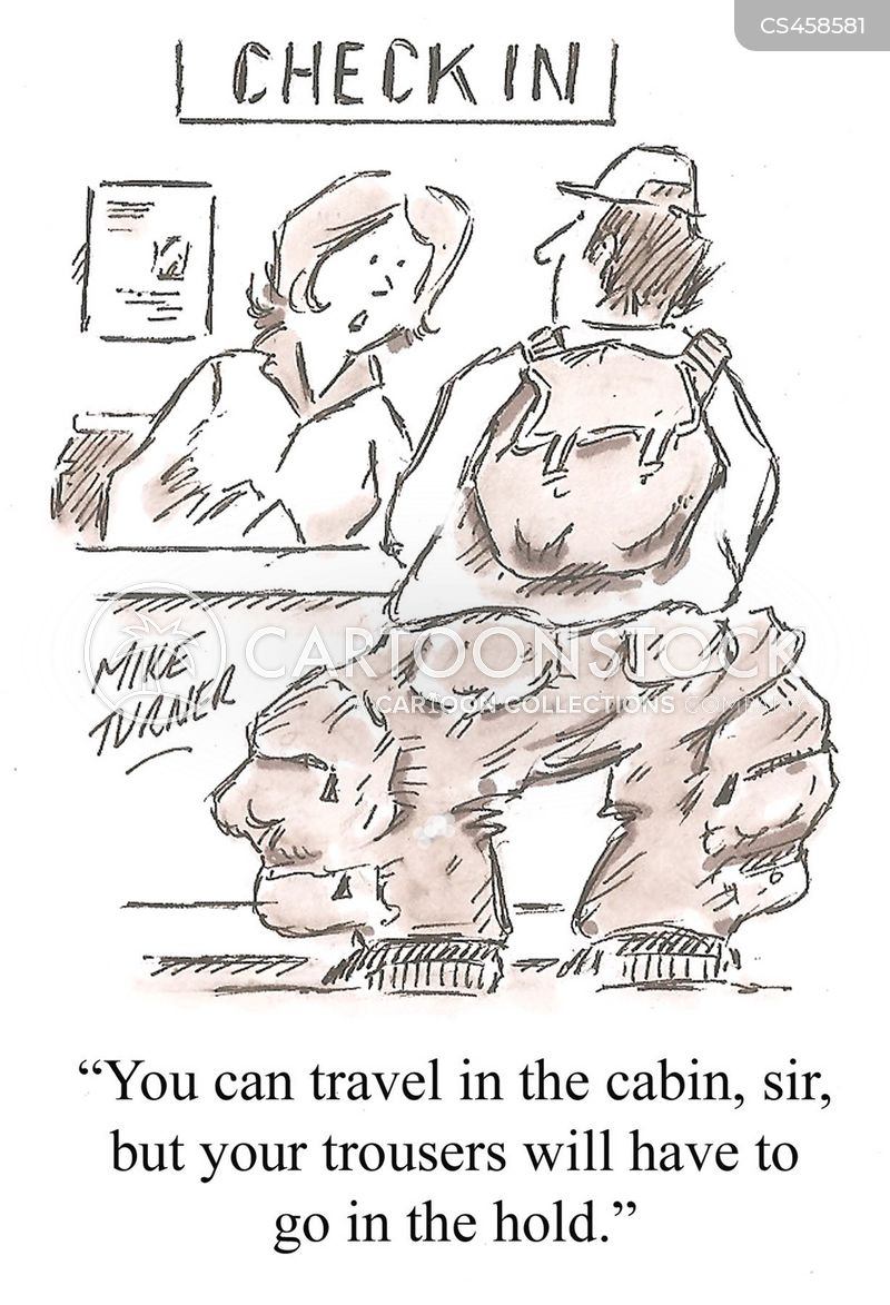 baggage allowance cartoon