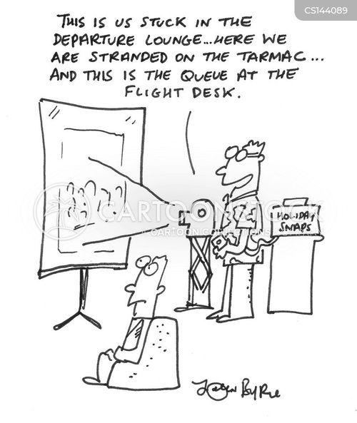 holiday snap cartoon