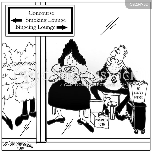 binge eaters cartoon