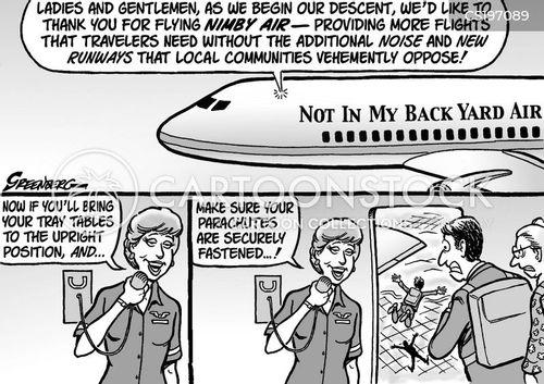 budget airline cartoon