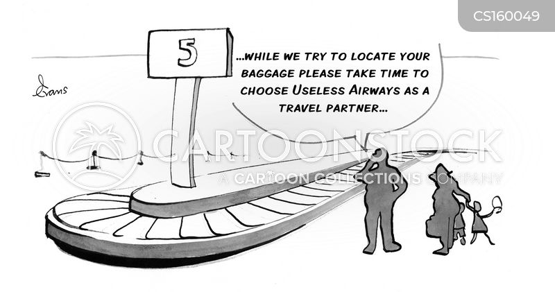 lost baggage cartoon