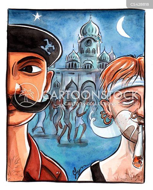 drug trade cartoon