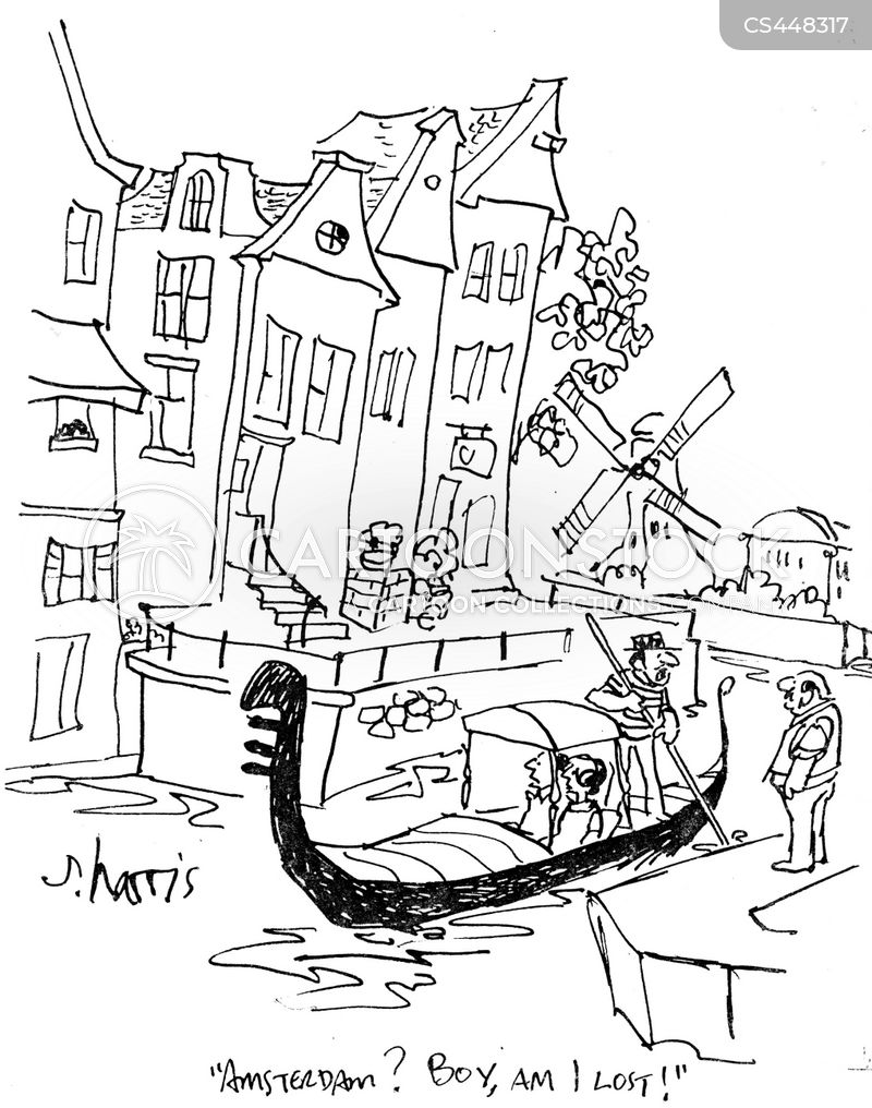 gondola tours cartoon