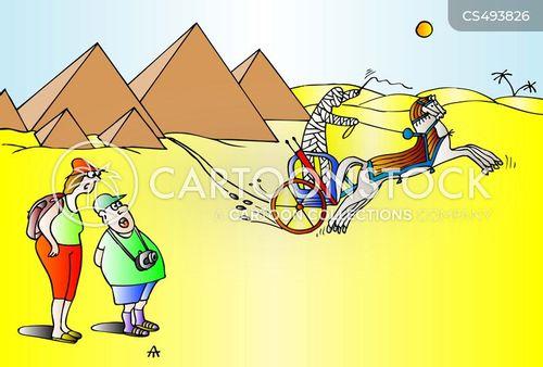 wonders of the ancient world cartoon