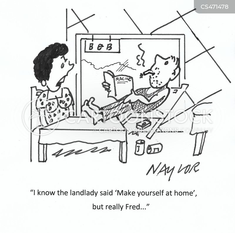 make yourself at home cartoon