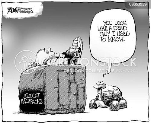 capsize cartoon