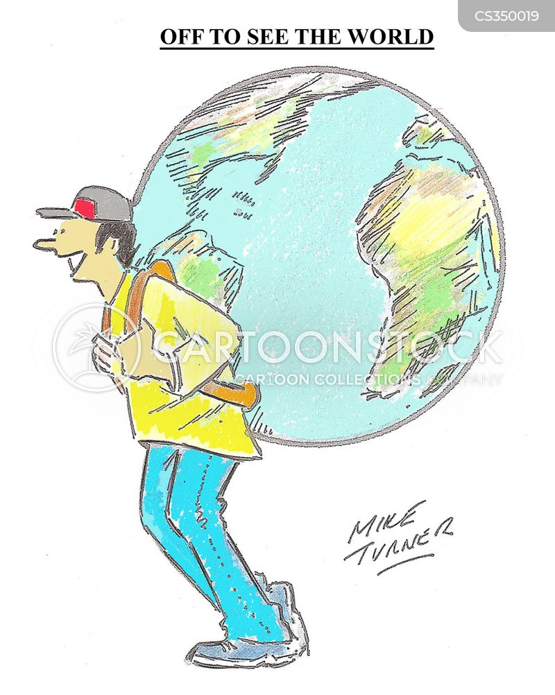foreign countries cartoon