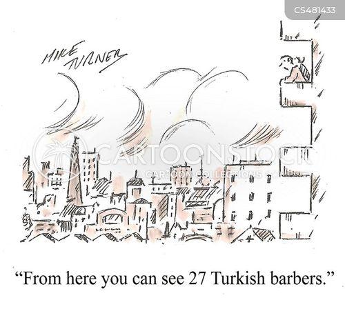 city-life cartoon