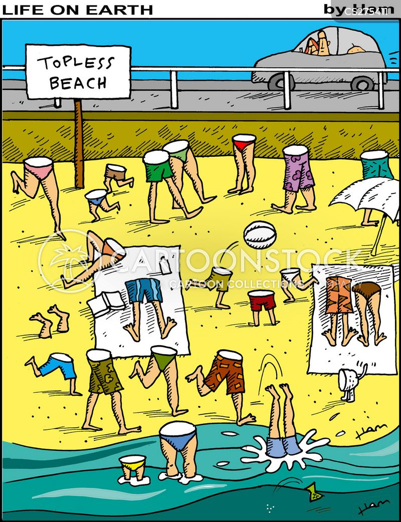 Image result for topless beach funny