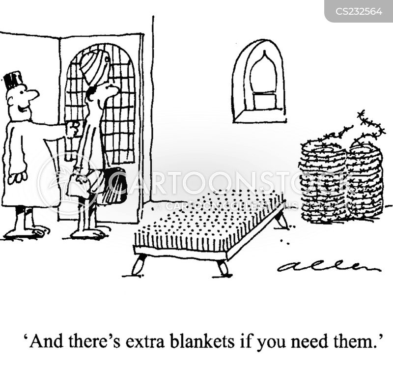 blanket cartoon