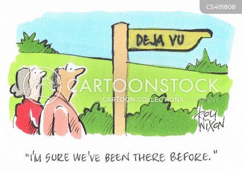 deja-vu cartoon