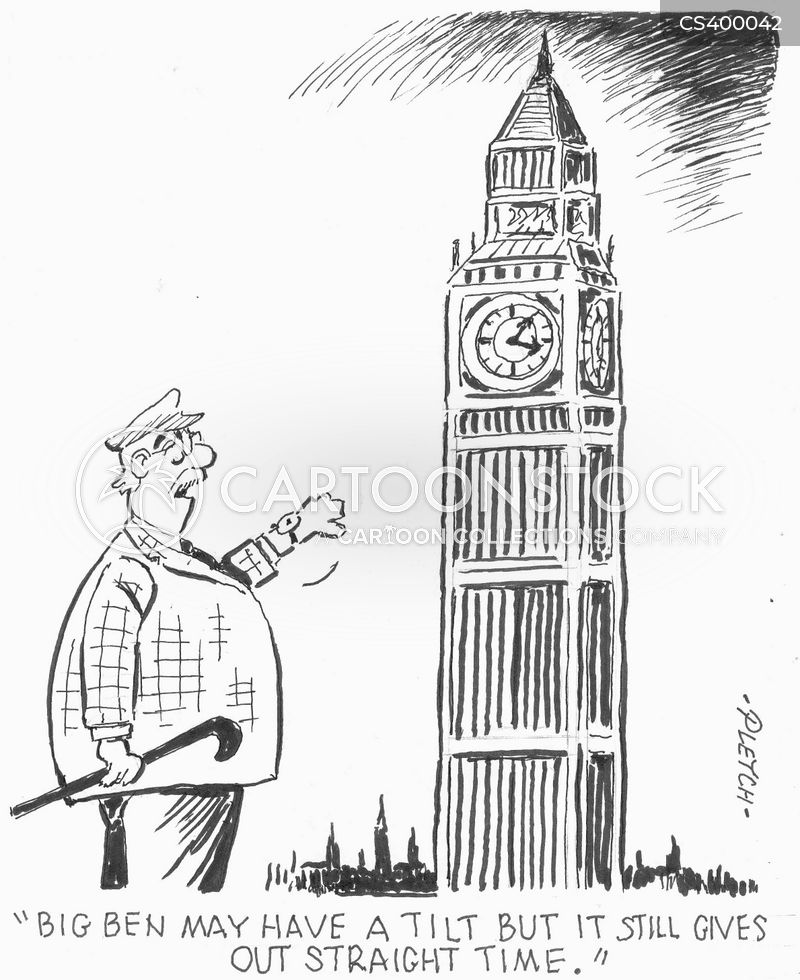 national landmark cartoon